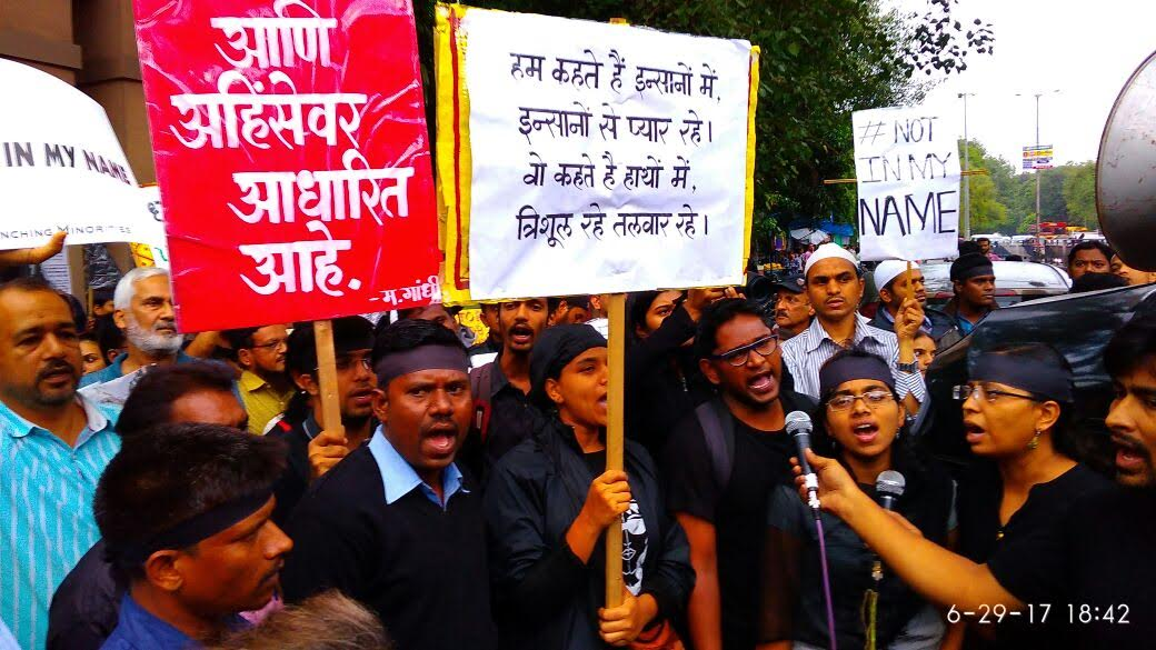 Pune – Thousands participated in the Protest March against mob lynching
