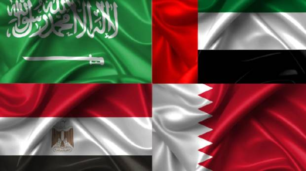 Bahrain, KSA, Egypt and UAE cut diplomatic ties with Qatar