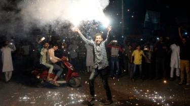 पाकिस्तान की जीत का जश्न मनाने पर देशद्रोह का मुकदमा दर्ज 15 लोग गिरफ्तार