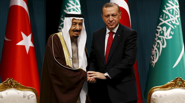 Turkey, Saudi Arabia discuss efforts to end Qatar rift