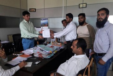 Pune- Popular Front files Complaint against Text book Publisher for defaming Mosque