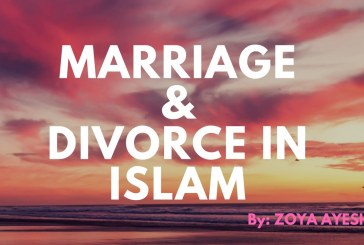 MARRIAGEAND DIVORCE IN ISLAM