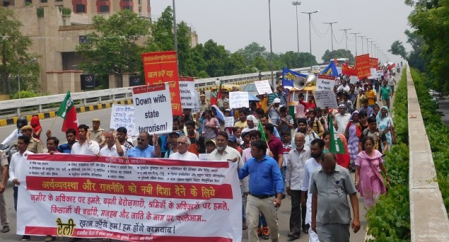 Hundreds March in Delhi Against Mob Lynching, Violation of Rights