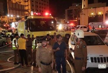 मक्का के एक होटल में आग लगने से स्थिति गंभीर 600 हज यात्रियों को सुरक्षित निकाला गया
