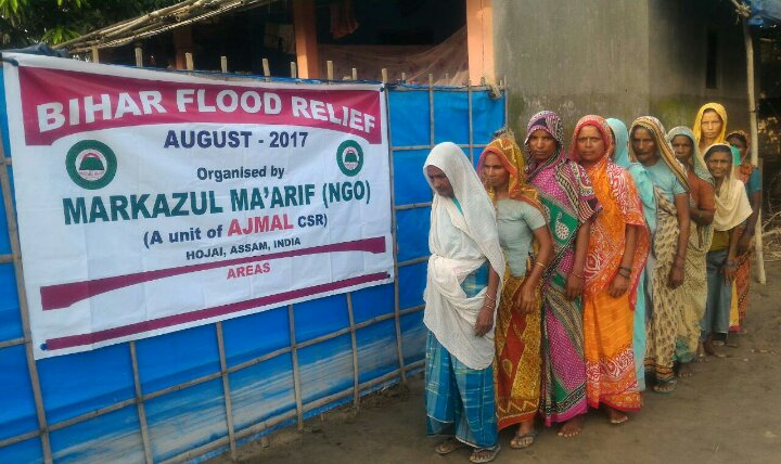 Markazul Ma'arif Plans Bihar Flood Relief in Big Scale
