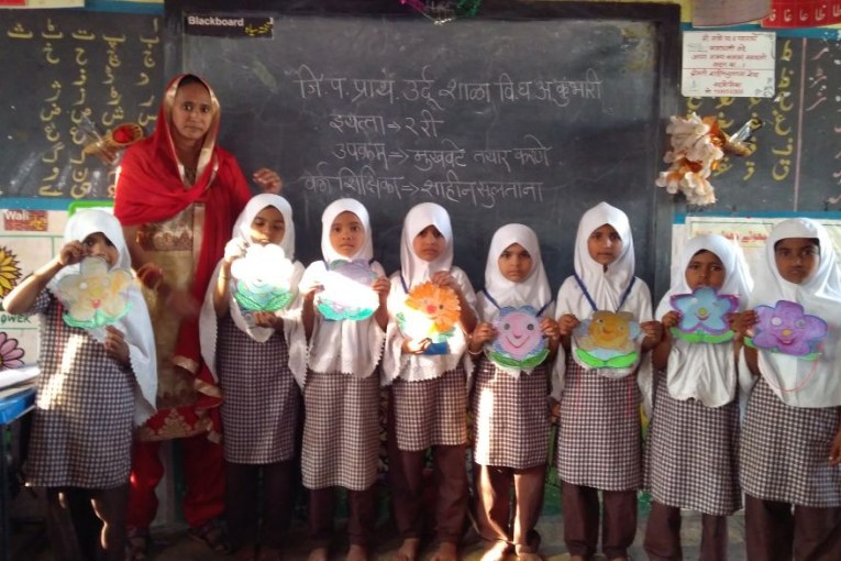 Z.P. Urdu schools celeberate Children's Day with full zeal