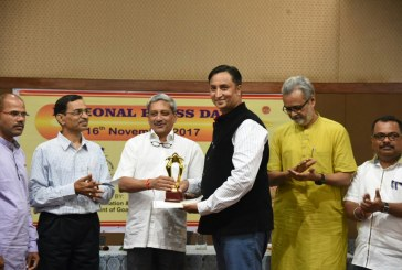 Goa Jouranlist Shashwat wins  awards for meritorious services