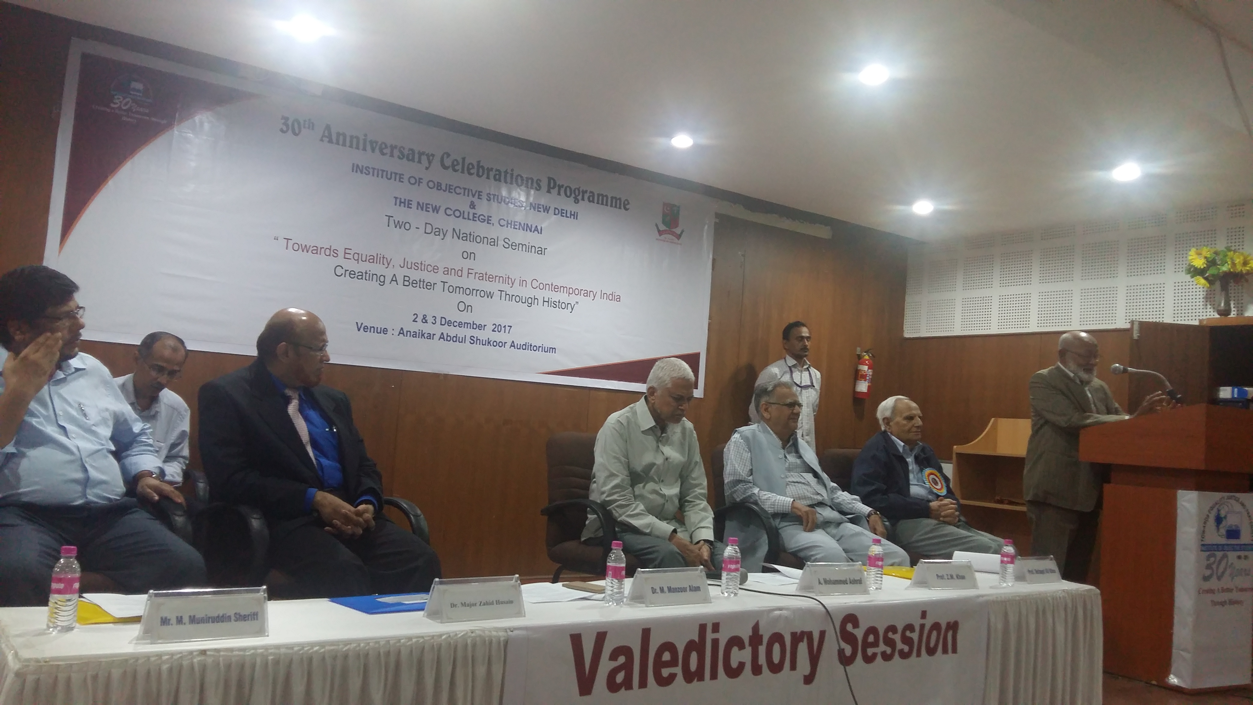 Speakers express concern over attempts to distort history for political gains