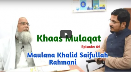 Khaas Mulaqat Episode:06 with Maulana Khalid Saifullah Rahmani- Millat Times