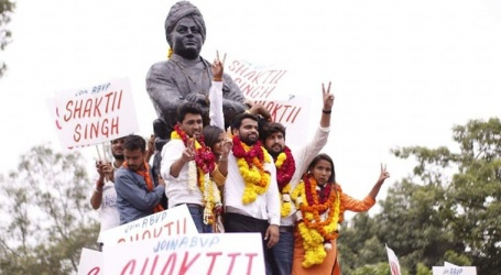 DUSU Election Result 2018: ABVP wins president, vice-president and joint secretary posts; secretary to be from NSUI