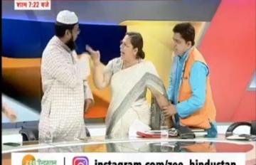 टीवी डिबेट में मौलाना को थप्पर मार कर सुर्खियों में आने वाली, वकील फराह फैज धर्म बदल अब बनीं लक्ष्मी