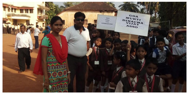 Goa-National Urdu School celebrates Goa Liberation Day