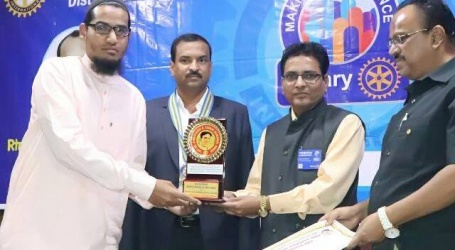 Solapur Muslims sideline Dr.Sajid's  high status CMS exam excellence