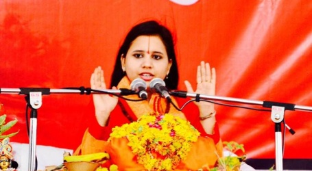 Gift your sisters a sword so they can behead love jihadis: Sadhvi Saraswati