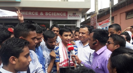Ajmal College student A.S. Thapa Tops Assam HS Board Exam