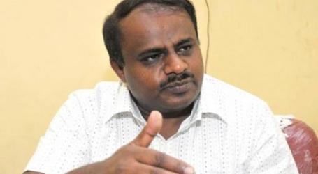 कुमारस्वामी ने सौंपा कांग्रेस का सर्मथन पत्र, राज्यपाल से मिलने के लिए मांगा समय