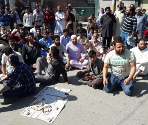 Complete Shutdown in Sumbal area of North Kashmir