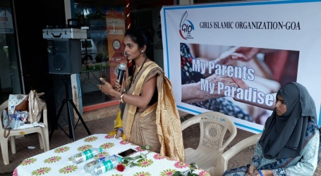 """Goa- Girls Islamic Organisation launches """"My parents My paradise"""" campaign"""