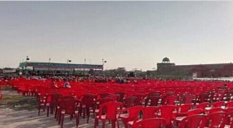 मटन-चिकेन बिरयानी के बाद भी फ्लाफ रही JDU की पटना रैली,नहीं पहुंचे लोग,खाली रही कुर्सियां,तो भड़क गए मंत्री खुर्शीद अहमद