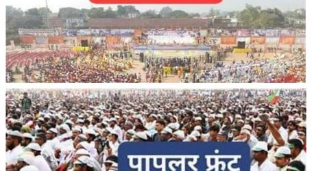 अयोध्या में'राम मंदिर आंदोलन'के जवाब में'मस्जिद आंदोलन,25लाख मुसलमानो की भीड़ का दावा
