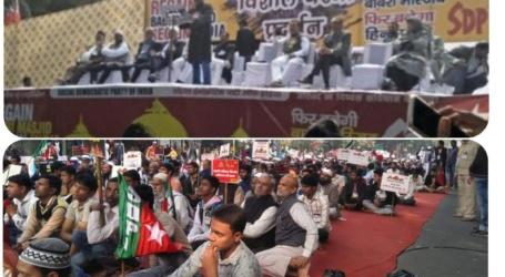 पुरे भारत मे SDPI ने निकाला मार्च कहा,फिर बनेगी बाबरी मस्जिद,फिर बनेगा हिंदुस्तान'