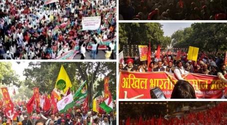 दिल्ली में 29 और 30 नवंबर को विभिन्न हिस्सों से आए किसानों ने कहा,मुझे राम मंदिर नहीं,कर्ज माफी चाहिए