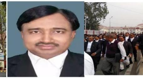 पटना:हाईकोर्ट के वकील की हत्या के बाद लाॅ एंड आर्डर को लेकर सड़कों पर उतरे वकील,नीतीश मुर्दाबाद के लगे नारे