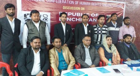 Formation of West Uttar Pradesh unit of Human Rights Organization NCHRO