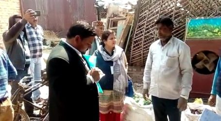 NCHRO conducted a fact finding in Meerut town affected by arson