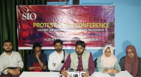 We will take the issue of students of JMI to President of India:SIO