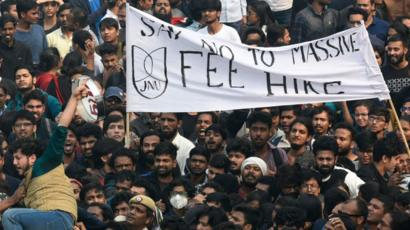 JNU fee hike issue: Students are academically suspended, unable to register their self.