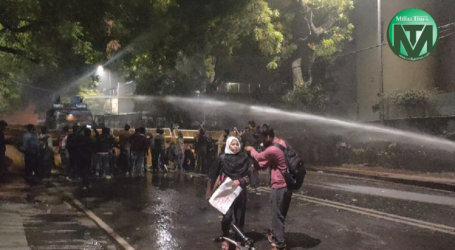 Delhi Riot: Police Used Water Cannon On Jamia Protesters Outside CM Kejriwal's Residence, Later Detained And Beaten Them