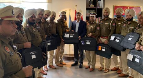 Investigation Bags for IOs are launched by DGP Punjab Shri Dinkar Gupta