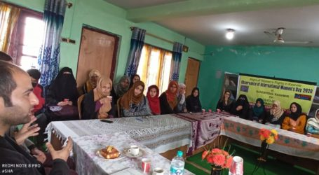 "One day Seminar on the theme "" Plight of Women Rights in Kashmir "" Was held at Ganderbal in Kashmir"