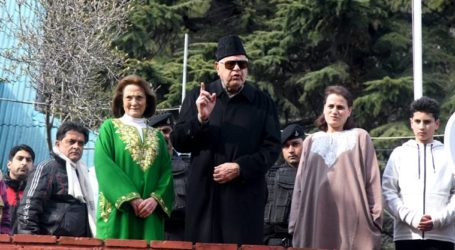 "Farooq Abdullah: ""This freedom will be complete until all those detained are released"" said after being released"
