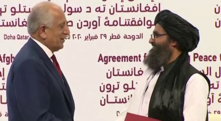 America's Longest War Ends: US and Taliban Sign Historic Peace Deal in Doha, Qatar