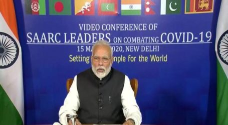 PM Modi Proposes Set Up Of COVID-19 Emergency Fund For SAARC Countries