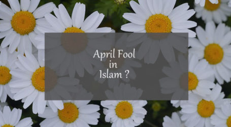 Why celebrating 'April Fool day' is prohibited in Islam