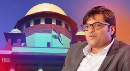 SC refuses to transfer cases to CBI, grants protection to Arnab Goswami for 3 weeks