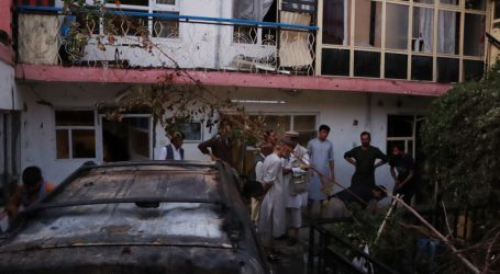 U.S. drone strike kills suspected suicide bombers in Kabul, officials say