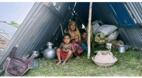 The Assam government demolishes the houses of 800 Muslims, did not spare even the mosques.